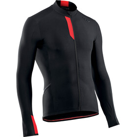Northwave Fahrenheit Longsleeve Jersey Men black red